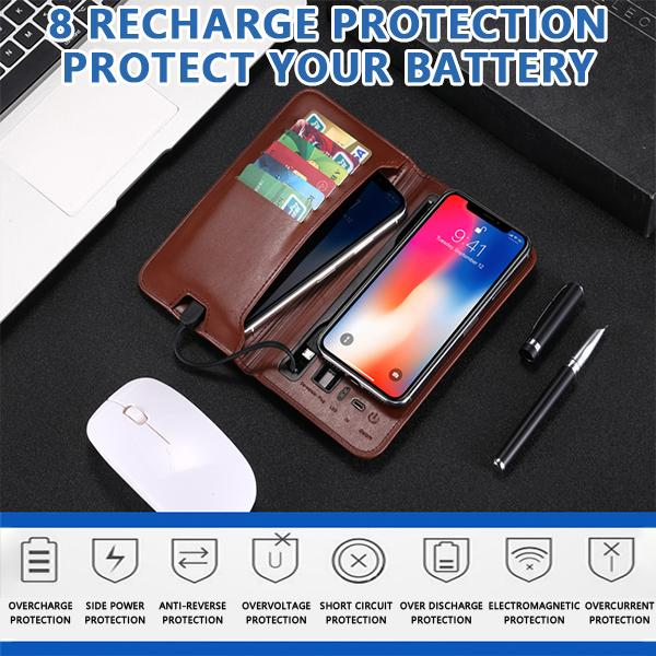 (50% OFF LAST DAY) Rechargeable cow wallet Buy 2 Free shipping