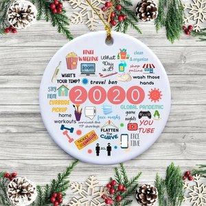 ONLY $6.99 🎄2020 Annual Events Christmas Ornament🎄
