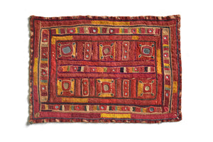 Hand embroidered Panel, Rumal, Kutch (Gujarat) - ahmedabadtrunk.in