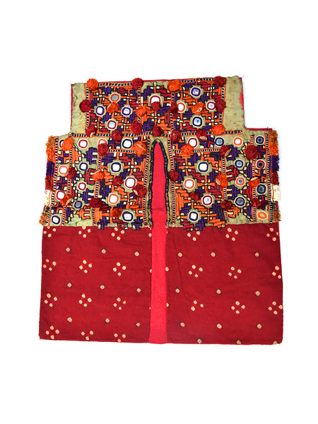 Hand embroidered Blouse, Kanjari, Kutch (Gujarat) Kharek-1619