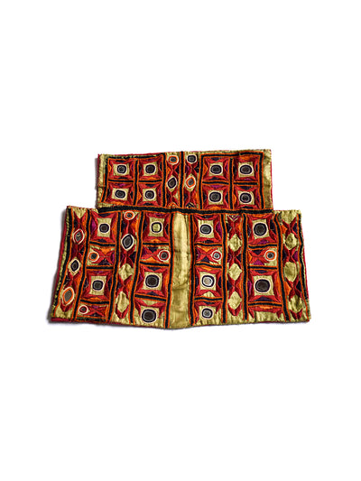 Hand embroidered blouse, Kanjari, Kutch (Gujarat) Soof -1608 - ahmedabadtrunk.in