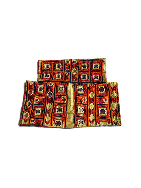 Hand embroidered blouse, Kanjari, Kutch (Gujarat) 1608 - ahmedabadtrunk.in