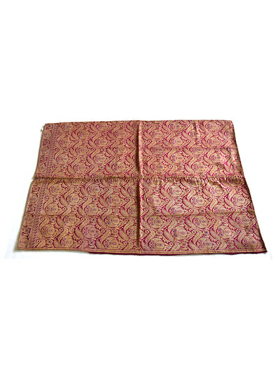 Hand embroidered Fabric (Brocade - 485) - ahmedabadtrunk.in