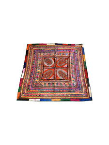 Hand embroidered wall hanging, Chakla, Kutch (Gujarat) 931 - ahmedabadtrunk.in