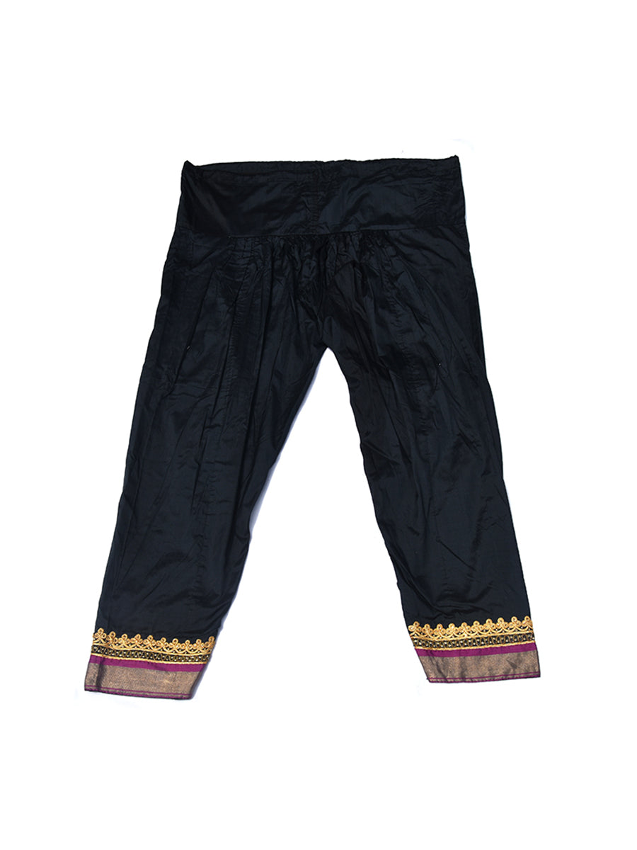 Hand Embroidered Pajama, Trouser, Gujarat -142 - ahmedabadtrunk.in