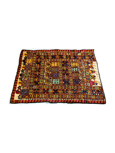 Hand embroidered wall hanging, Chakla, Kutch (Gujarat), Kathi - 2134 - ahmedabadtrunk.in