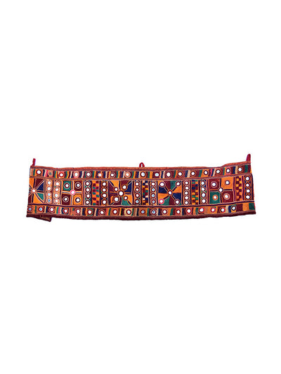 Hand embroidered, Door Hanging, Toran, Kutch (Gujarat) Banjara-1819 - ahmedabadtrunk.in