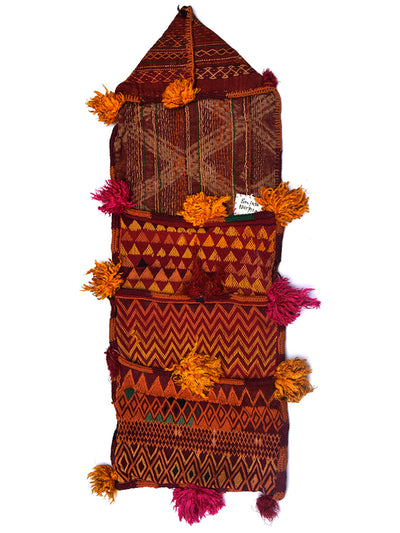Hand Embroidered Envelop Pouch, Gujarat Banjara-1865 - ahmedabadtrunk.in