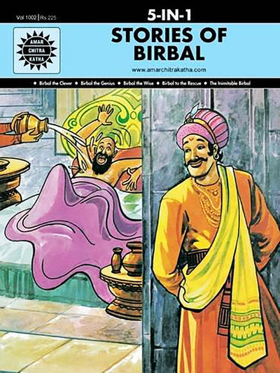 Stories of Birbal: 5 in 1 - ahmedabadtrunk.in