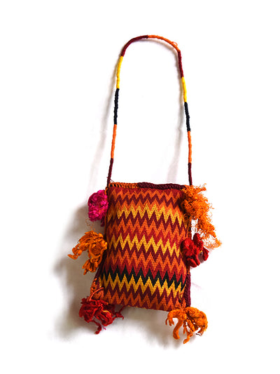 Hand embroidered Bag, Jhola, Banjara, Gujarat.1162 - ahmedabadtrunk.in