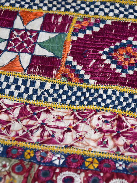 Hand embroidered, Door Hanging, Toran, Kutch (Gujarat) Kathipa -  828 - ahmedabadtrunk.in