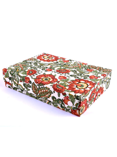 Hand Block Printed Jewellery Box - ahmedabadtrunk.in