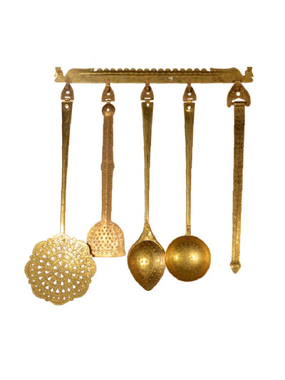 Brass kitchen gift set - ahmedabadtrunk.in