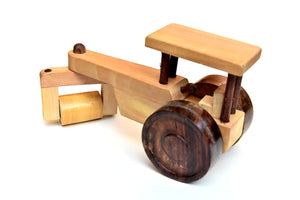 Toy wooden Road Roller For kids - ahmedabadtrunk.in