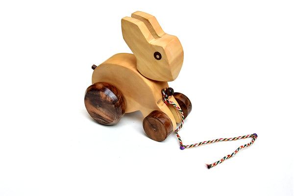 Wooden Toy Rabbit For Kids - ahmedabadtrunk.in
