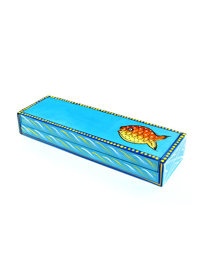 Wooden Pencil Box for Kids - ahmedabadtrunk.in