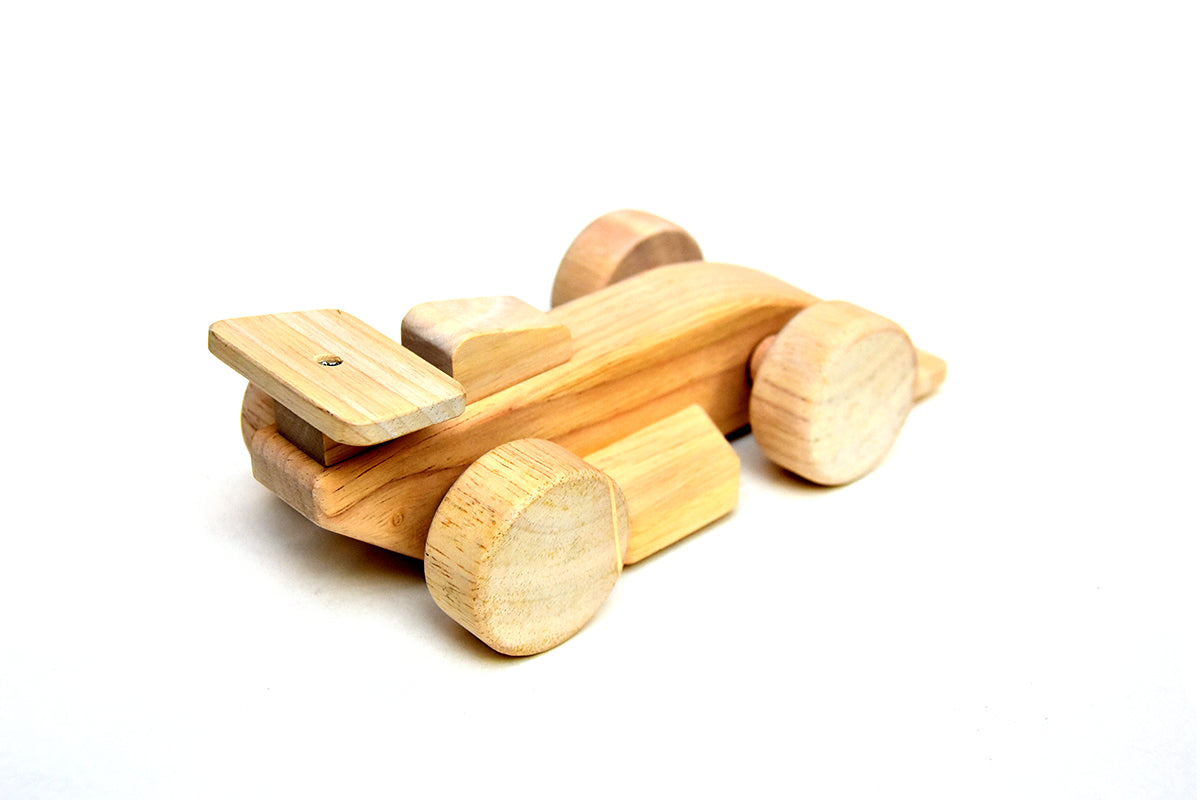 Wooden Toy Race Car For Kids - ahmedabadtrunk.in
