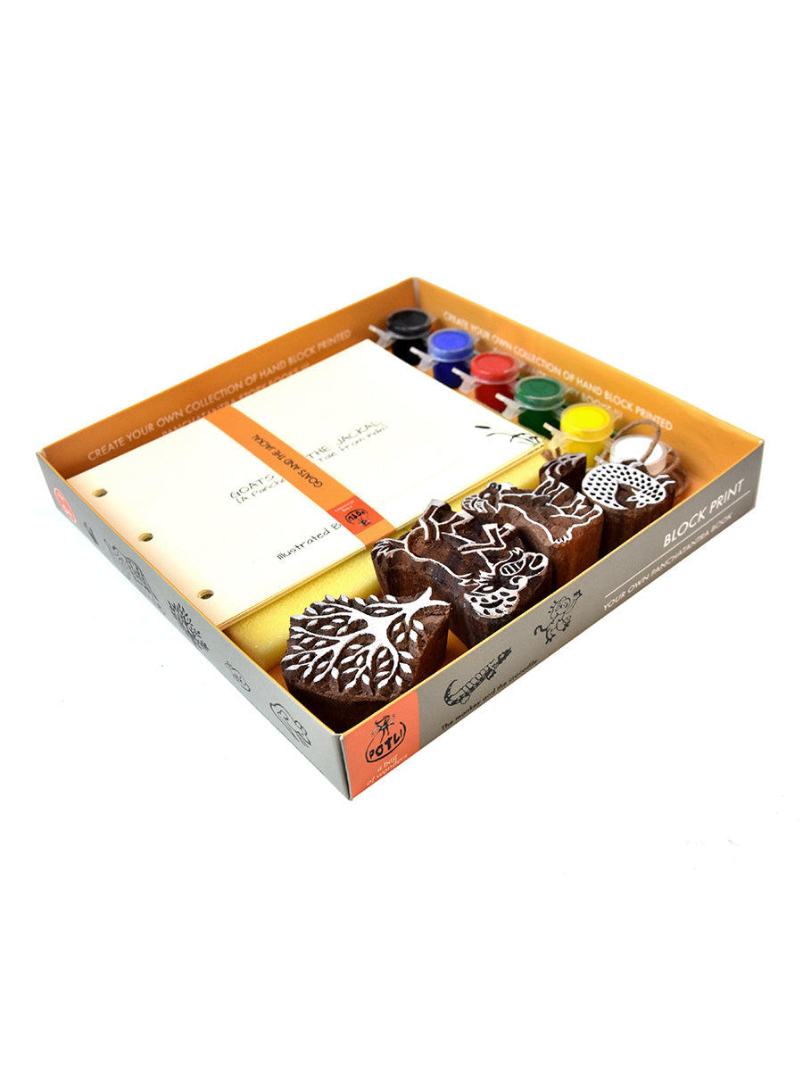 Block Print Craft Kits For Kids - ahmedabadtrunk.in