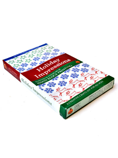 Holiday Impression Block Printing Craft Kit For Kids - ahmedabadtrunk.in