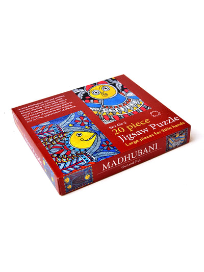 Madhubani Jigsaw Puzzle For Kids - ahmedabadtrunk.in