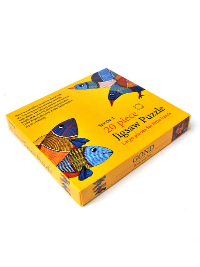 Jigsaw puzzle Gond For Kids - ahmedabadtrunk.in
