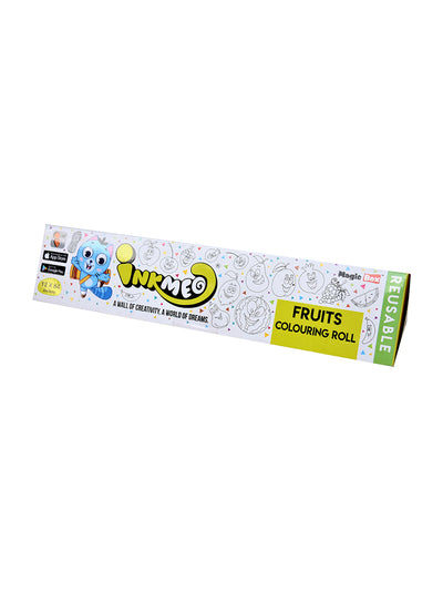 Fruit Coloring Roll for Kids ( Reusable) - ahmedabadtrunk.in