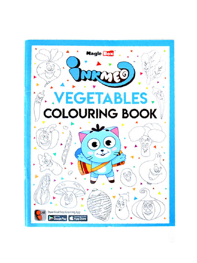 Vegetable Coloring Book For Kids - ahmedabadtrunk.in