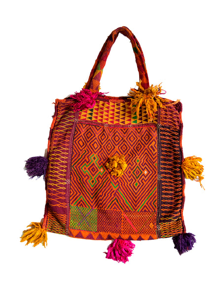 Hand embroidered Banjara Bag, Gujarat Banjara-1874 - ahmedabadtrunk.in