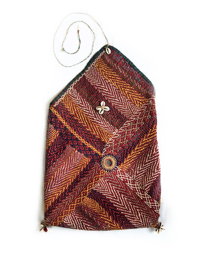 Hand embroidered Banjara Bag, Gujarat Banjara-1859 - ahmedabadtrunk.in