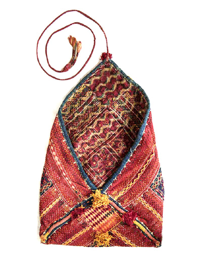 Hand embroidered Banjara Bag, Gujarat Banjara-1876 - ahmedabadtrunk.in