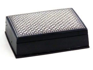 Bidri box with silver inlay For Gift - ahmedabadtrunk.in