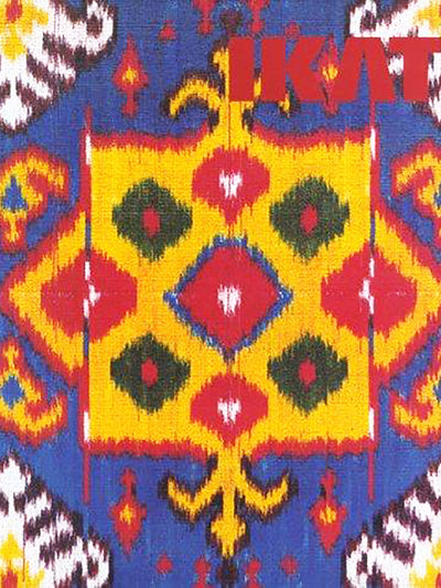 Ikat Splendid Silks Of Central Asia - ahmedabadtrunk.in