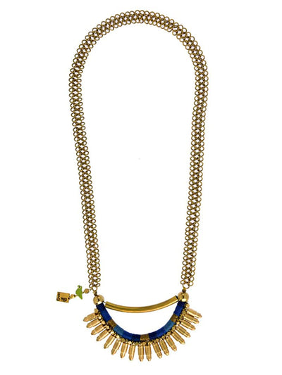 BULLET RANI NECKLACE (BLUE) For Womens - ahmedabadtrunk.in