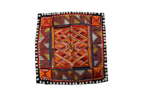 Hand embroidered wall hanging, Chakla, Kutch (Gujarat) Banjara-1866 - ahmedabadtrunk.in
