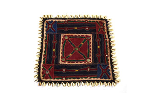 Hand embroidered wall hanging, Chakla Banjara-2347 - ahmedabadtrunk.in