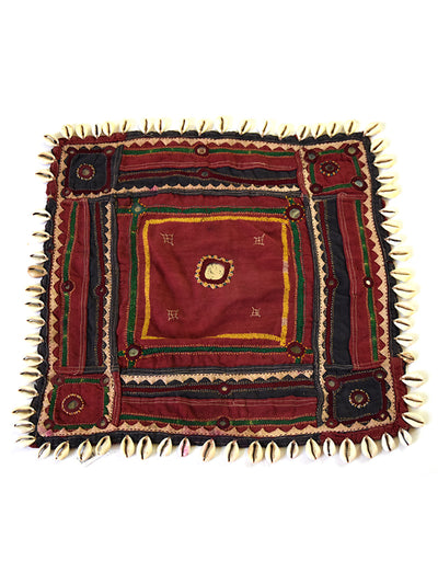 Hand embroidered wall hanging, Chakla Banjara-2343 - ahmedabadtrunk.in