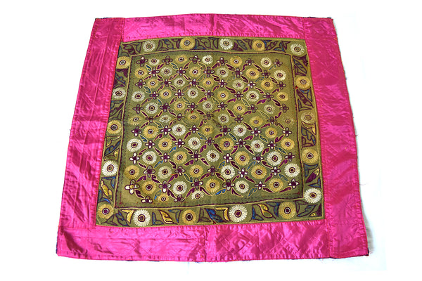 Hand embroidered wall hanging, Chakla, Kutch (Gujarat) Kathi -2110 - ahmedabadtrunk.in