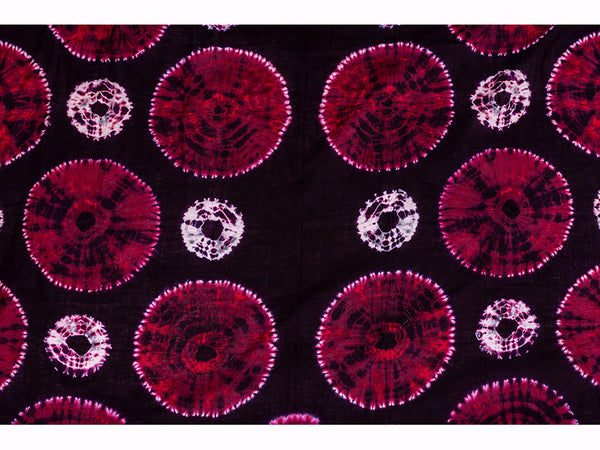 Cotton Shibori Stole Medium Red For Women - ahmedabadtrunk.in