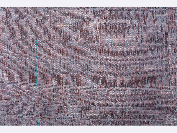 Banarasi Handwoven Raw Silk Stole Medium Multicolor - ahmedabadtrunk.in