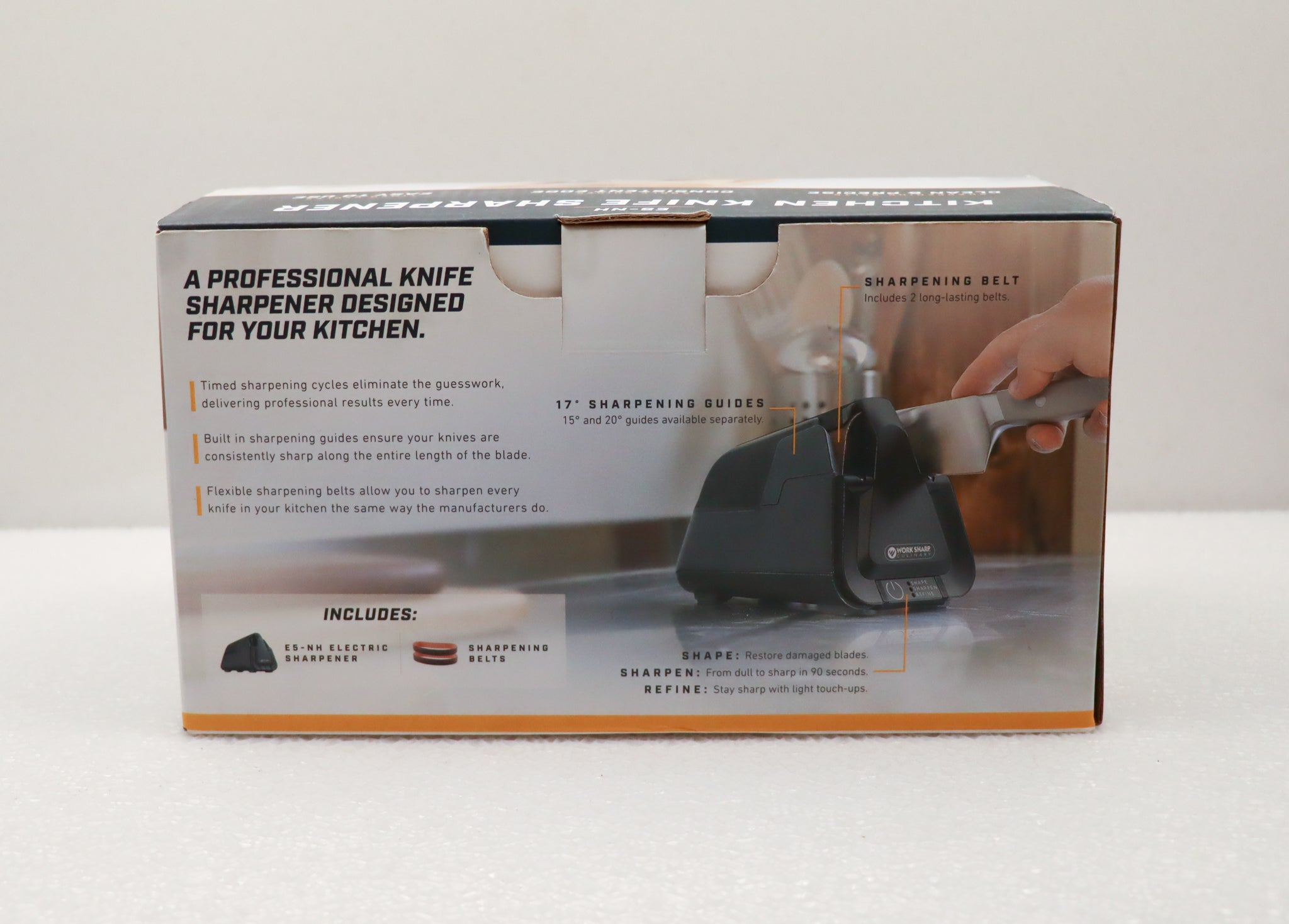 Work Sharp Kitchen Knife Sharpener
