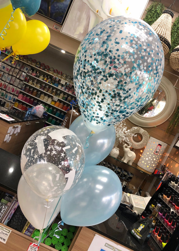 Mixed Balloon Bouquets and Packages
