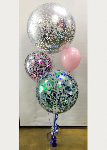 Confetti Balloons - CUSTOM COLOURS