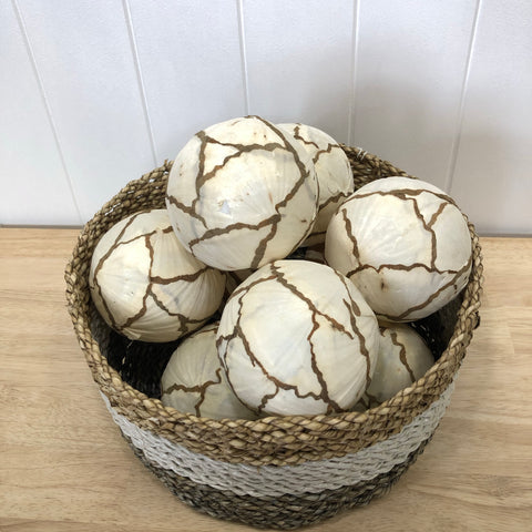 Natural Cabbage Deco Ball 10cm