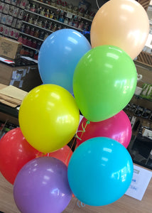 "Single 11"" Latex Balloons"