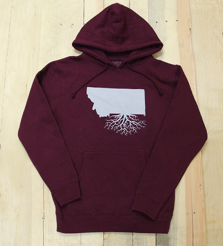 Montana Roots Heavy Weight Pullover Hoodie