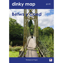 Front Cover of Dinky Betws y Coed Map