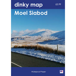 Front Cover of Dinky Moel Siabod Map
