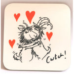 Goats of Llandudno Coaster - Cwtch