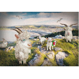 Great Orme Goat Greeting Card - Orme