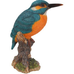 Load image into Gallery viewer, Kingfisher on Stump